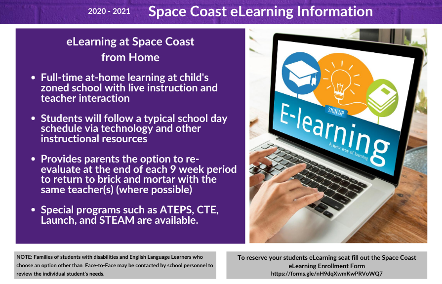 Space Coast eLearning Information