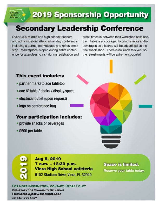 Secondary Conference