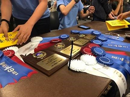 MATH BOWL - DeLaura's Algebra & Math2 teams took 1st Place - Click Club & Activities Tab for more info.
