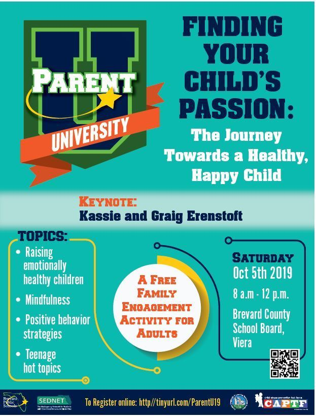 Parent U: Finding Your Child's Passion: The Journey Toward a Healthy, Happy Child