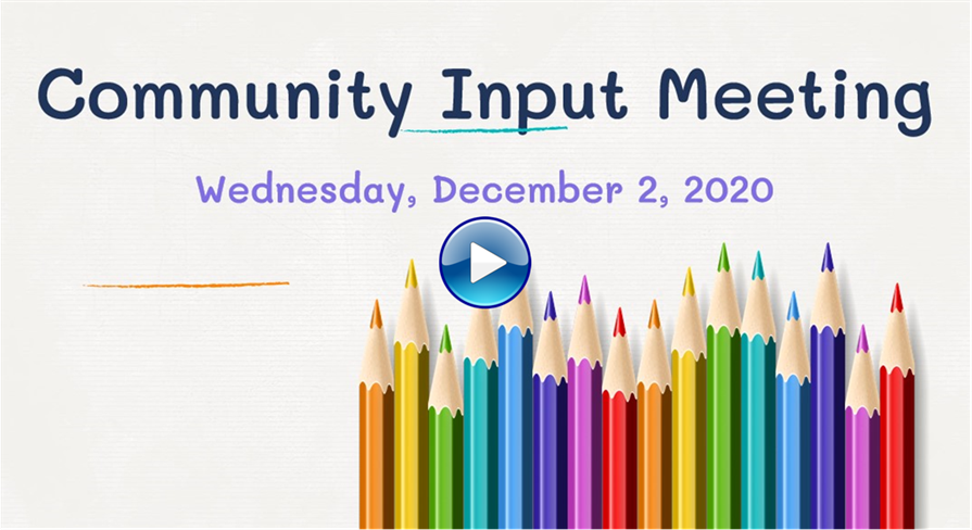 Community Meeting December 2, 2020