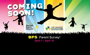 Parent Survey Coming Soon April 1- April 19