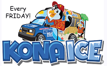 Kona Ice Fridays!