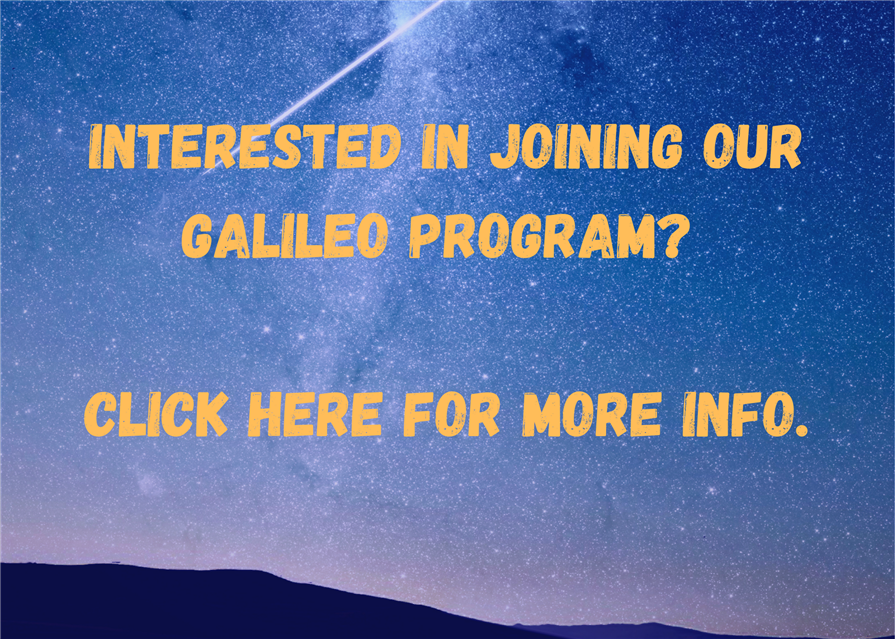Interested in joining our galileo program?