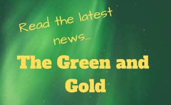Student Newspaper The Green and Gold Volume 2