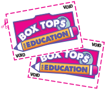 boxtops for education coupons with scissors