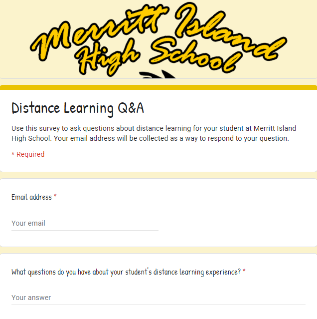 Distance Learning Question and Answer