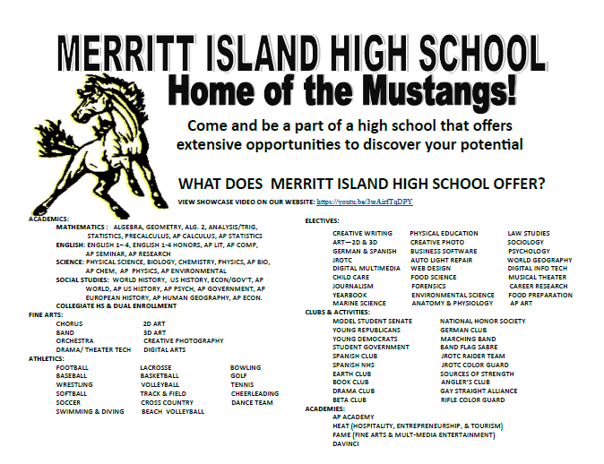 MIHS Registration Flyer
