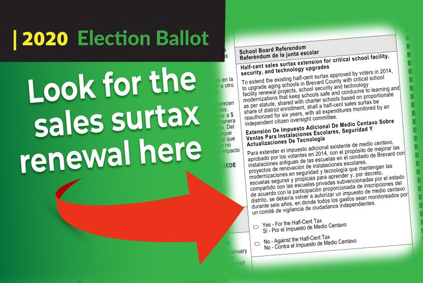 Look for the surtax renewal on page 2 of your ballot!