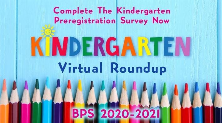 Virtual Kindergarten Roundup