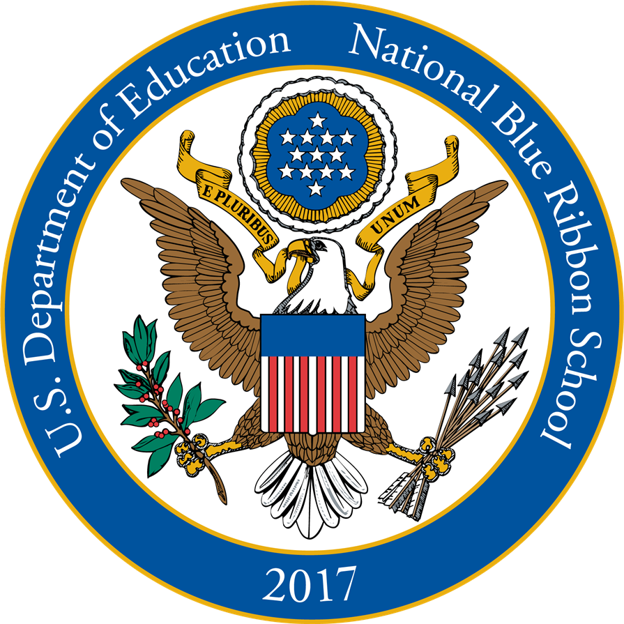 2017 National Blue Ribbon School of Excellence (also awarded in 2008)