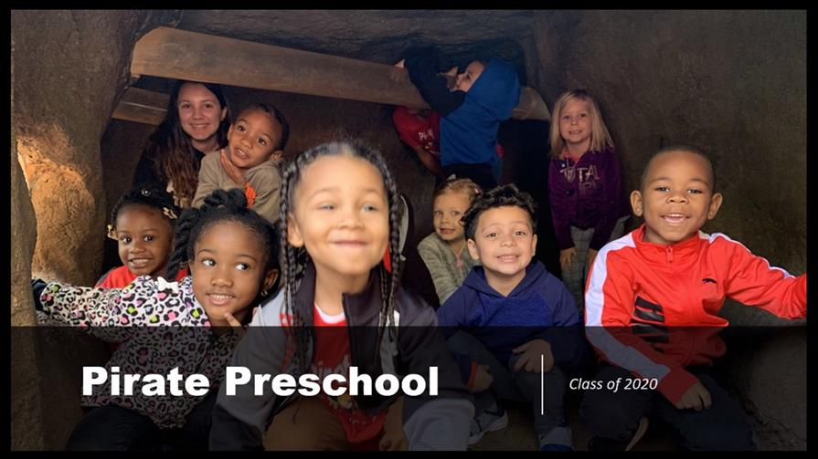 Class of 2020 Pirate Preschool