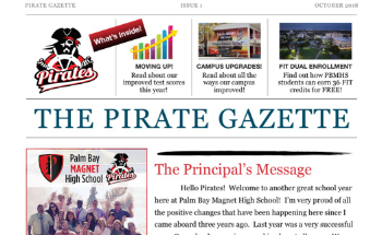 Pirate Gazette Newsletter