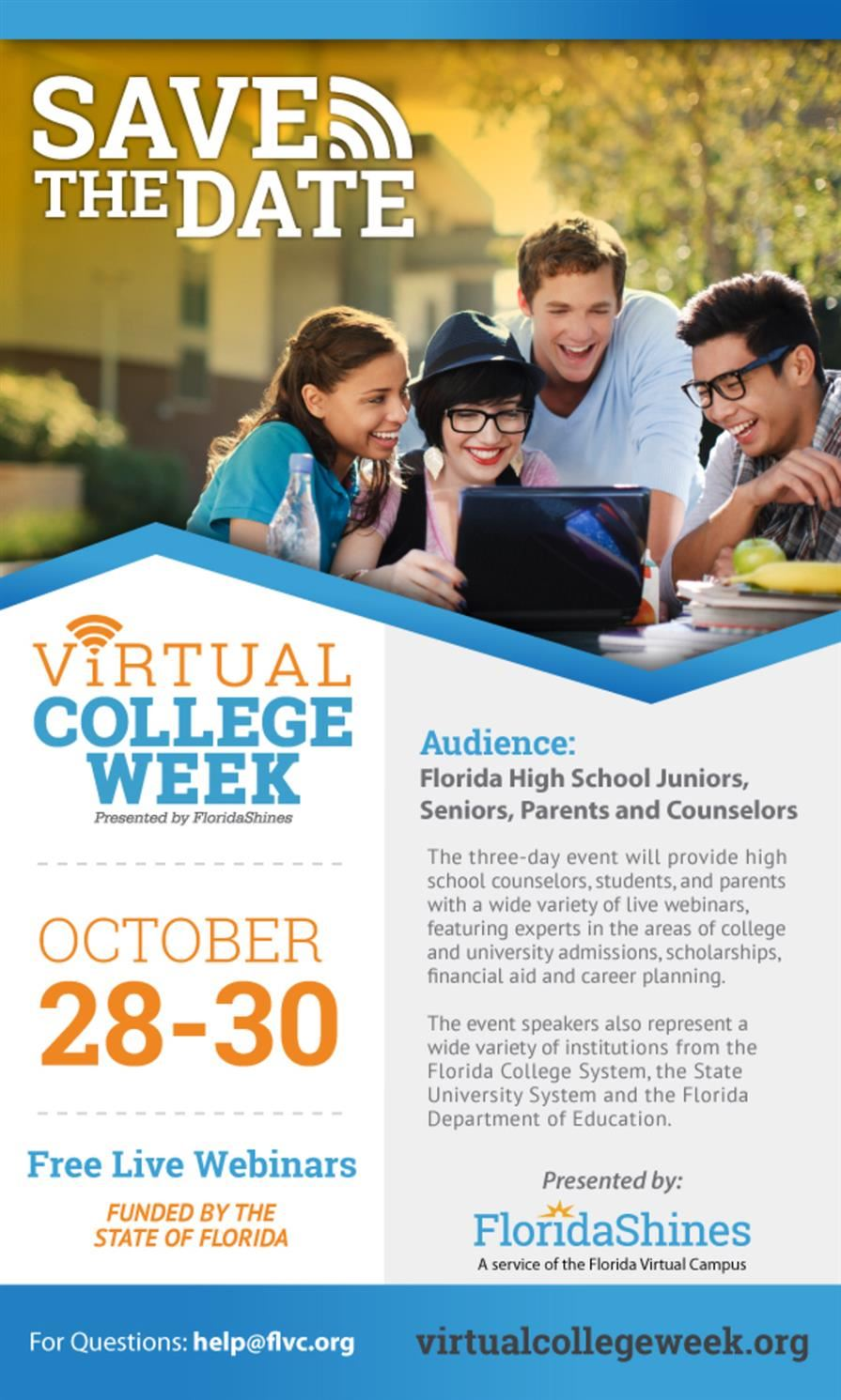Save the Date-Virtual College Week