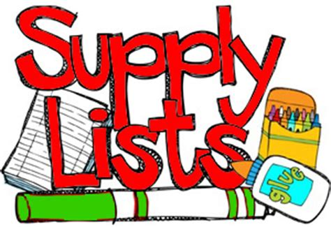 Riviera Student Supply List 2020-2021