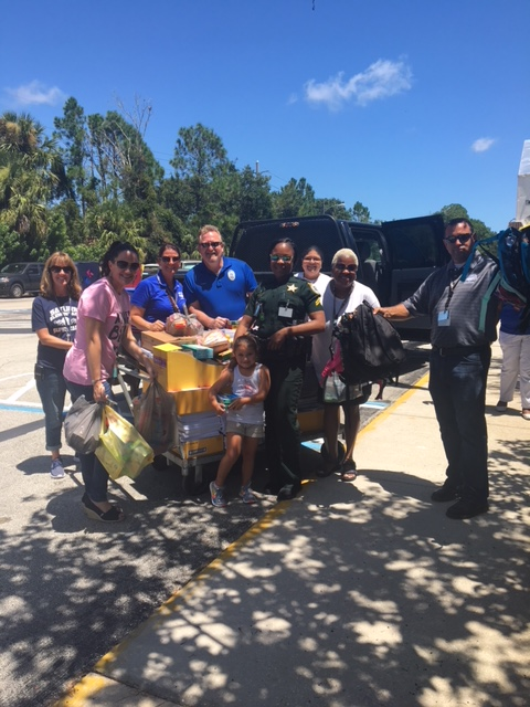 Cocoa Police Donate School Supplies