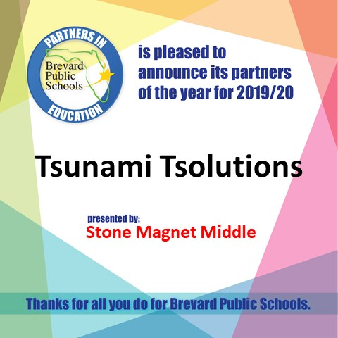Tsunami Tsolutions Stone Gopher Market Business Partner of the Year