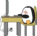 Penguin on Computer