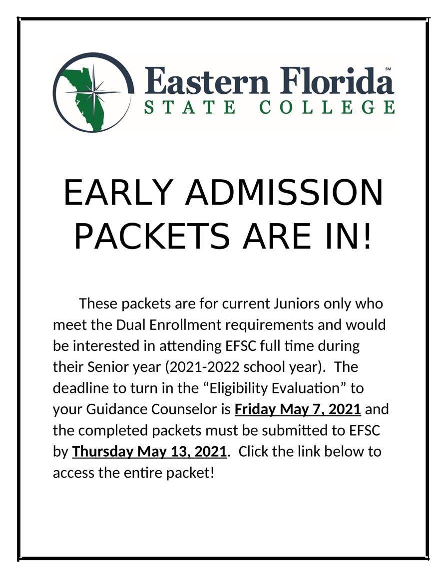 Overview / EFSC Dual Enrollment