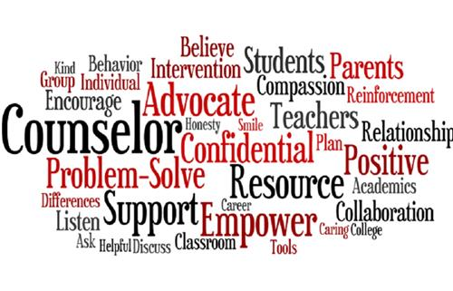 Counselors Word Cloud