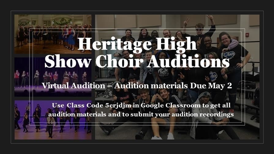 Show Choir Auditions