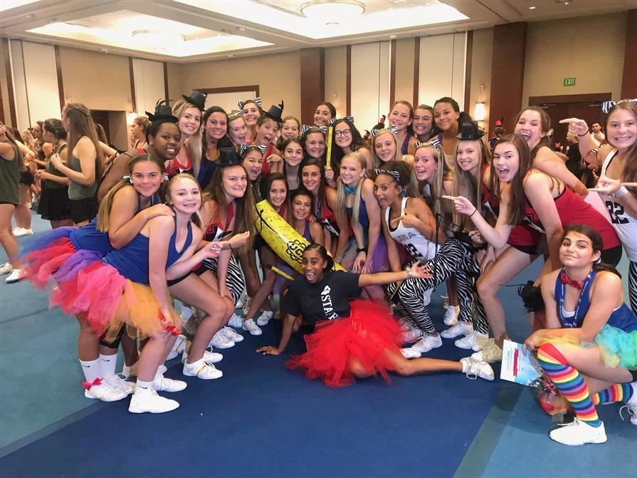 Cheer Camp Spirit Award
