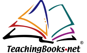 Teaching Books logo with open book