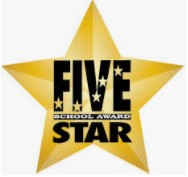 WMSS, once again, awarded the 5 Star School Award!