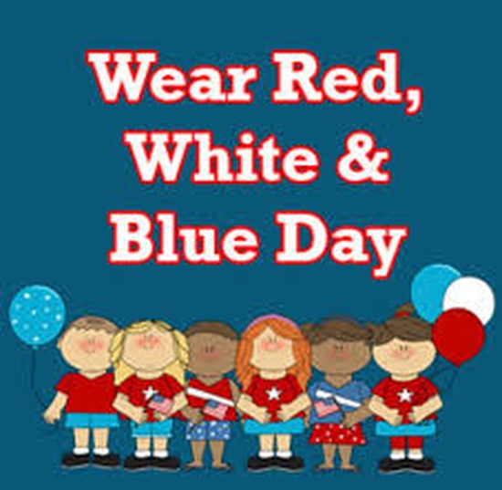 Red, White & Blue Day, November 4th