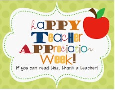 May is National Teacher Appreciation!