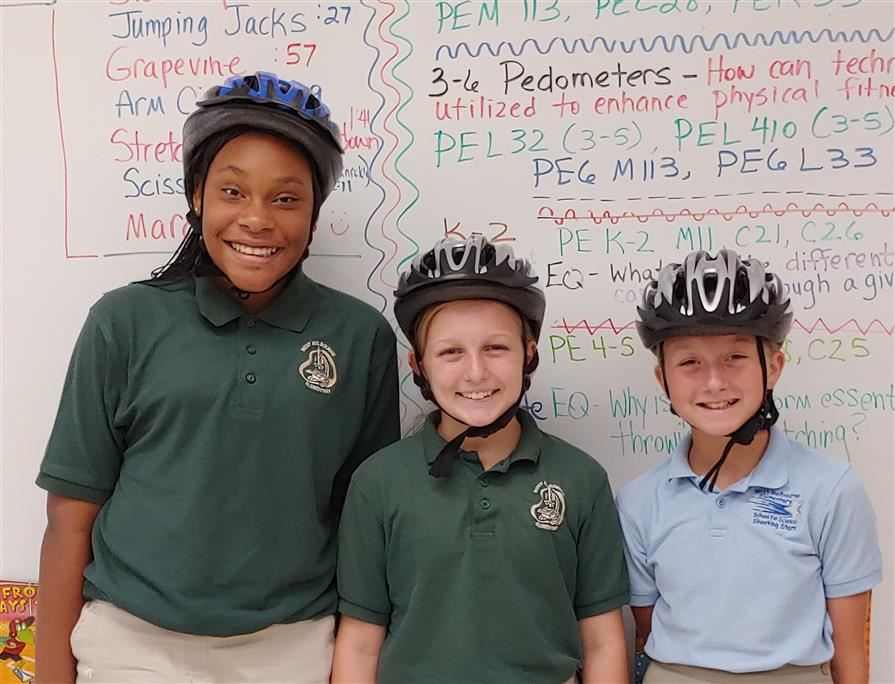 WMSS Students can receive free bike safety helmets! Click here for details!