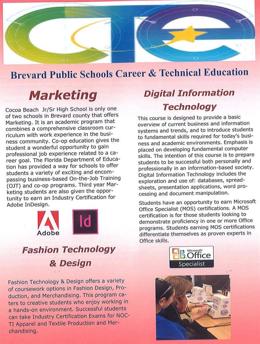 CTE Programs Offered
