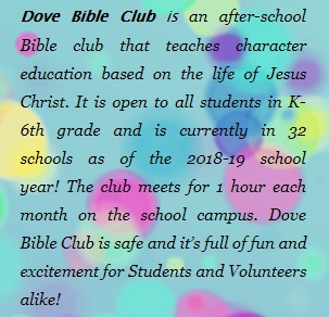 About Dove Bible Club